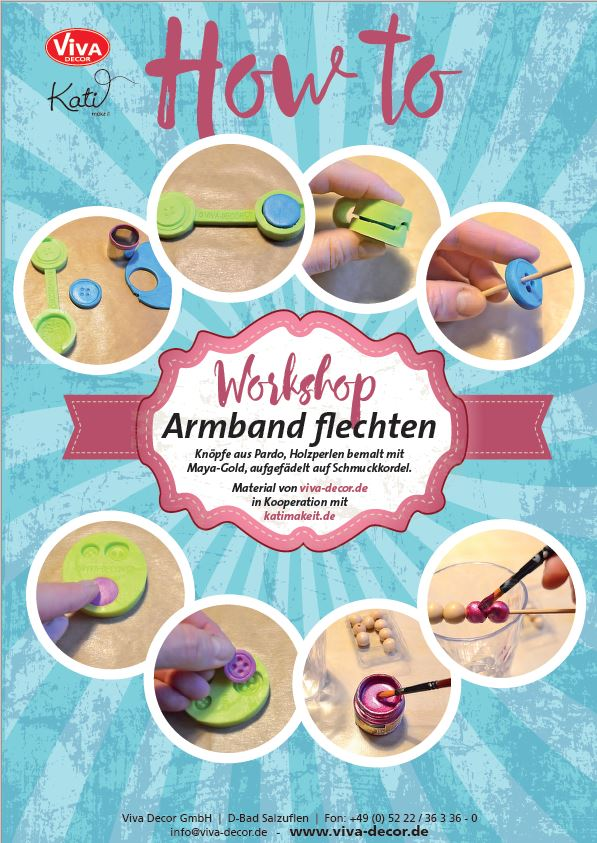 Armbander Flechten Fur Den Sommer Diy Kati Make It
