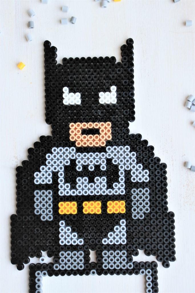 Batman aus Bügelperlen