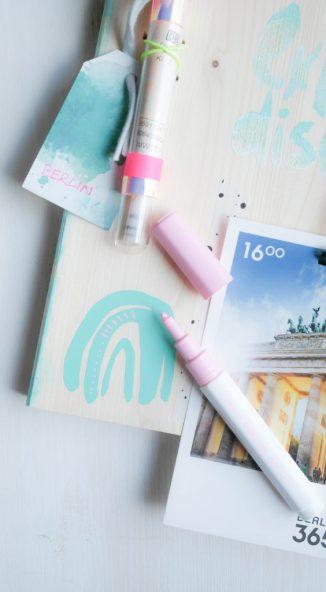 Travel Memory Board | DIY mit Holz